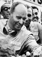 1951 Formula 1 world champion Juan Manuel Fangio