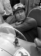 1956 Formula 1 world champion Juan Manuel Fangio