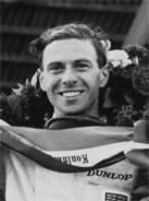 1963 Formula 1 world champion Jim Clark