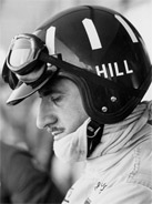 1968 Formula 1 world champion Graham Hill