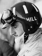 1968 Formula 1 world champion Graham Hill