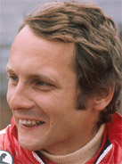 1975 Formula 1 world champion Niki Lauda