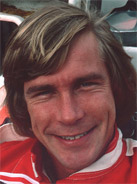 1976 Formula 1 world champion James Hunt