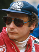 1977 Formula 1 world champion Niki Lauda