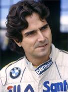 1983 Formula 1 world champion Nelson Piquet