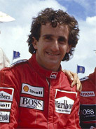 1986 Formula 1 world champion Alain Prost