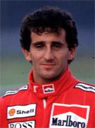 1989 Formula 1 world champion Alain Prost