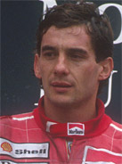 1990 Formula 1 world champion Ayrton Senna