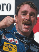 1992 Formula 1 world champion Nigel Mansell