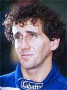 1993 Formula 1 world champion Alain Prost