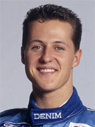 1994 Formula 1 world champion Michael Schumacher