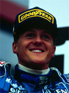 1995 Formula 1 world champion Michael Schumacher