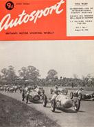 AUTOSPORT, 25 August 1950