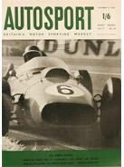 AUTOSPORT, 31 October 1958