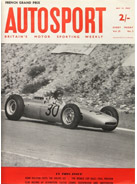 AUTOSPORT, 13 July 1962