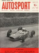 AUTOSPORT, 9 August 1963