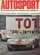 AUTOSPORT, 20 June 1969