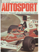 AUTOSPORT, 10 October 1974