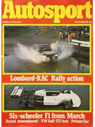 AUTOSPORT, 2 December 1976