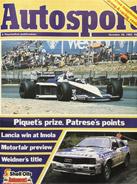 AUTOSPORT, 20 October 1983