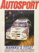 AUTOSPORT, 11 December 1986