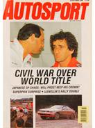 AUTOSPORT, 26 October 1989