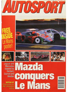 AUTOSPORT, 27 June 1991