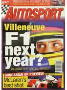 AUTOSPORT, 10 August 1995