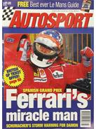 AUTOSPORT, 6 June 1996