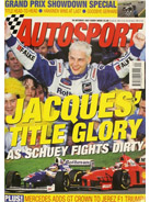 AUTOSPORT, 30 October 1997