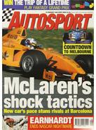 AUTOSPORT, 19 February 1998