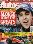 AUTOSPORT, 26 October 2006