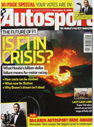 AUTOSPORT, 11 December 2008