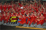 Ferrari continues its dominance of Formula 1 with Michael Schumacher's sixth title