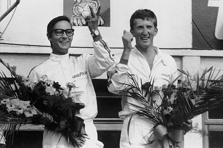 Jochen Rindt wins Le Mans with Masten Gregory