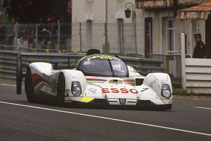 Peugeot wins the Le Mans 24 Hours for the first time