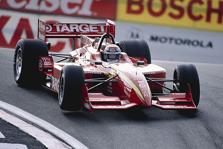 Alex Zanardi wins the first Champ Car title after the split with the IRL