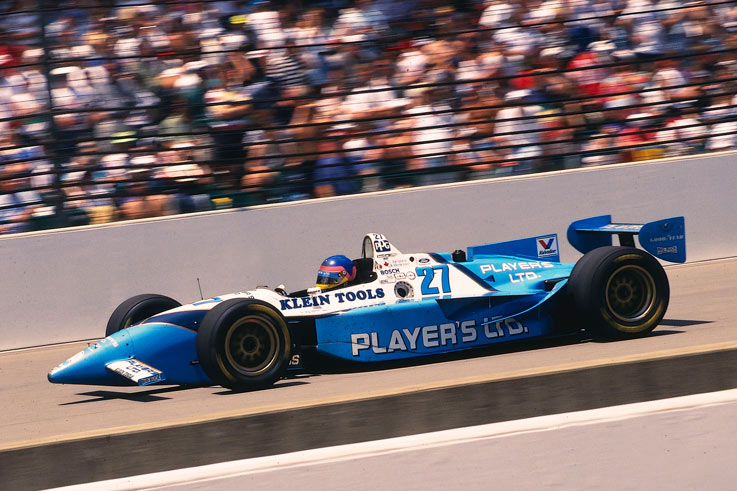 Jacques Villeneuve wins the Indianapolis 500 and IndyCar title before signing with Williams for 1996