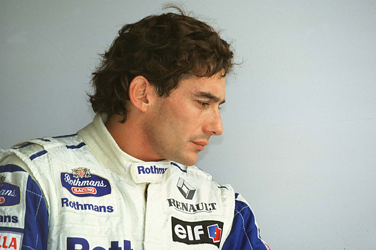 Ayrton Senna is killed in a crash during the San Marino GP at Imola