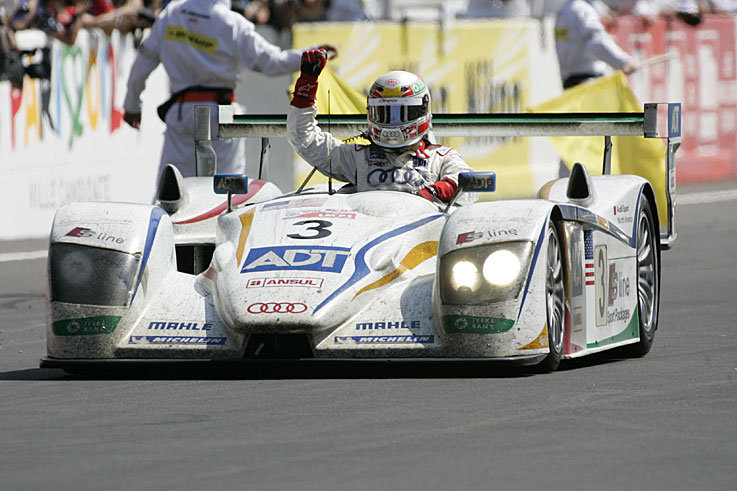 Tom Kristensen takes a record seventh Le Mans victory