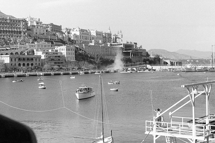 Alberto Ascari survives a crash into the Monaco harbour, but is killed testing at Monza just four days later