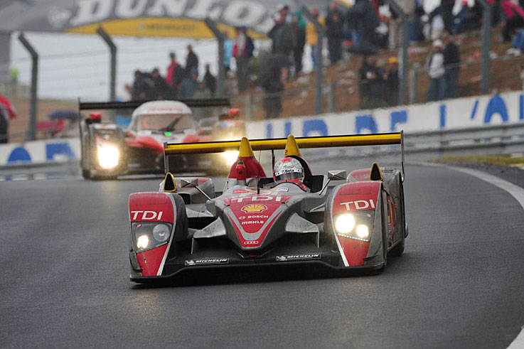 The Audi R10 takes the last of its three Le Mans wins, while Tom Kristensen scores his eighth