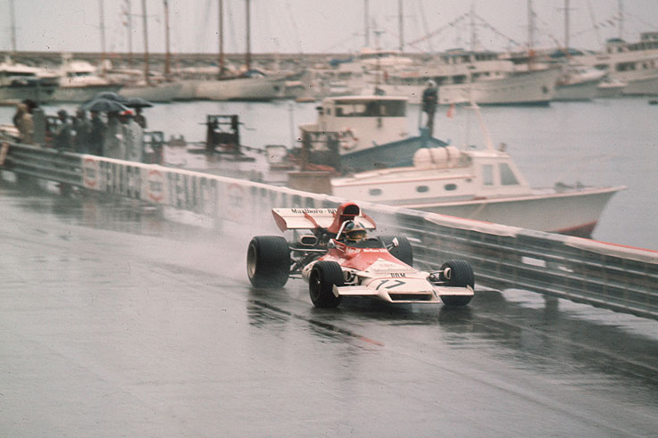 Jean-Pierre Beltoise takes his only F1 win for BRM at Monaco