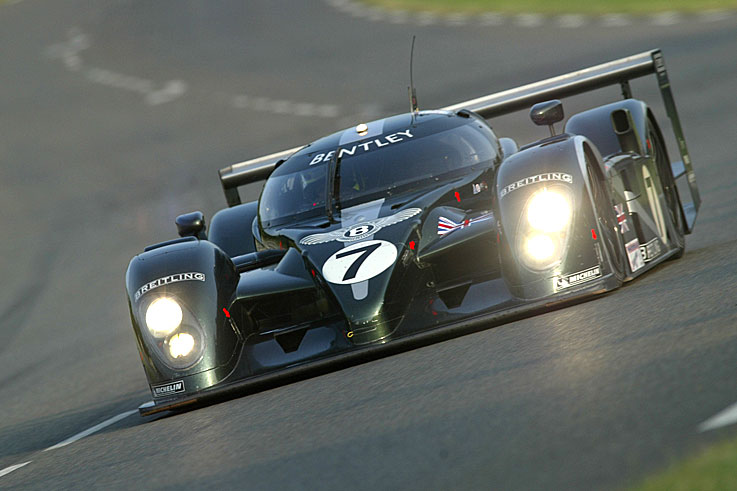 Bentley wins the Le Mans 24 Hours with Tom Kristensen, Rinaldo Capello and Guy Smith