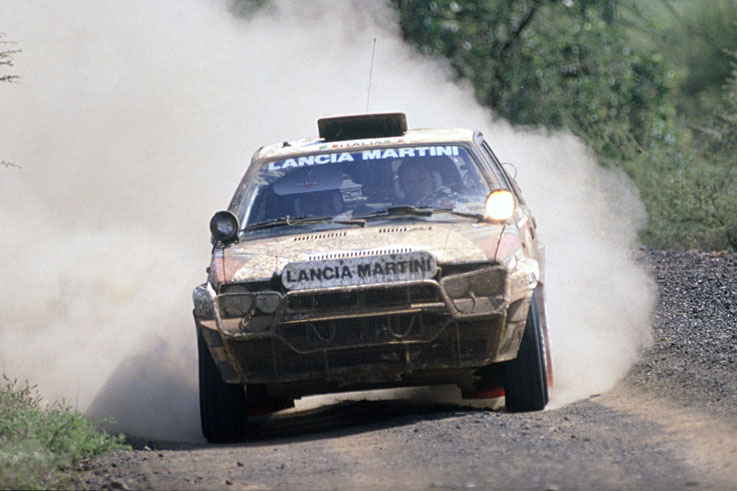 Miki Biasion wins his second consecutive World Rally title