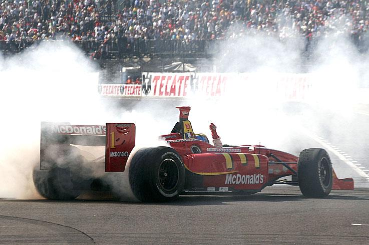 Sebastien Bourdais wins his fourth consecutive Champ Car title