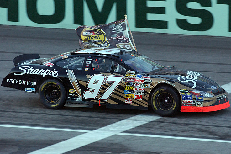 Kurt Busch wins the NASCAR title in the first year of the Chase