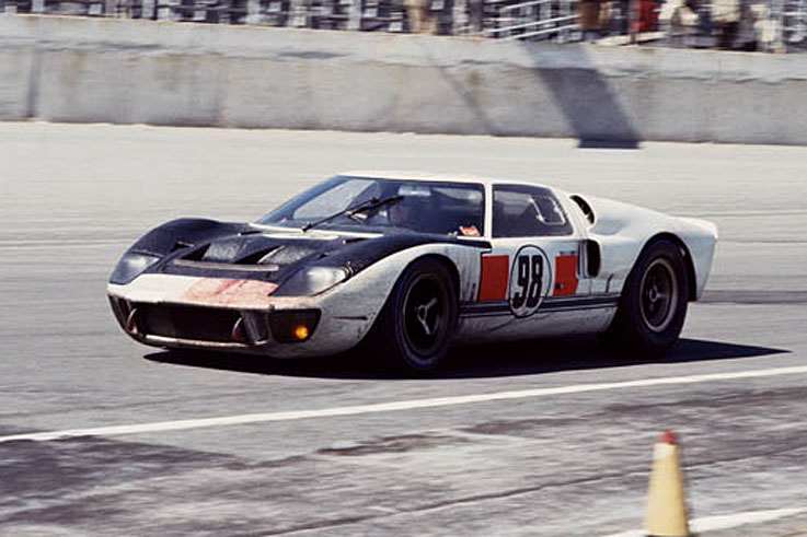 Ken Miles and Lloyd Ruby win the inaugural Daytona 24 Hours