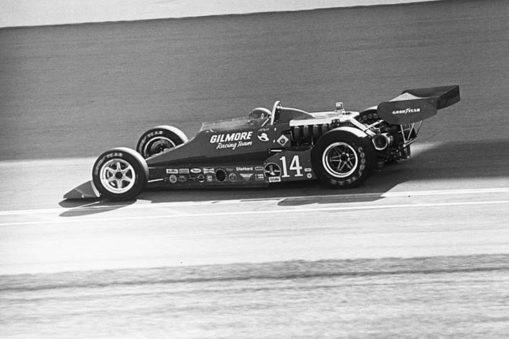 AJ Foyt takes the last of his four Indianapolis 500 victories