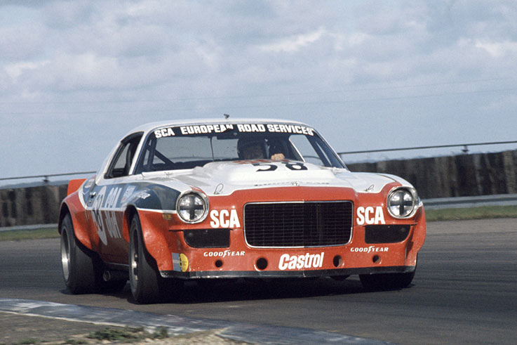 Frank Gardner wins his third British Touring Car Championship